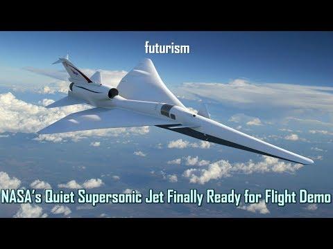 NASA's Quiet Supersonic Jet Finally Ready for Flight Demo | futurism