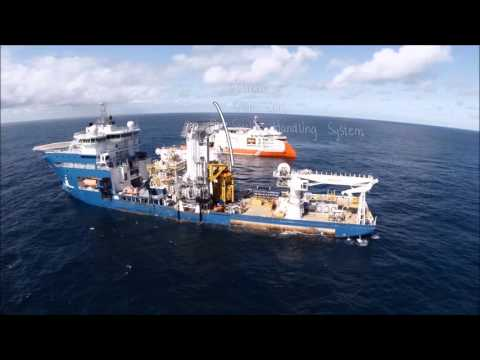 Seven Viking and North Sea Giant on the Asgard Subsea gas compression field