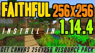 How to install faithful 64x64 texture pack videos / InfiniTube
