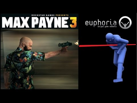 Max Payne 3 EUPHORIA Ragdoll Physics Engine - 20 min of Kills Showcase GAMEPLAY