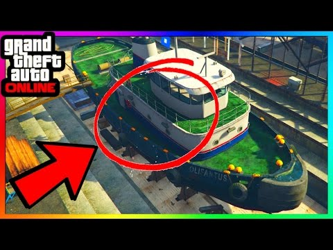 "NEW SECRET HIDDEN WALLBREACH FOUND ON BOAT IN GTA ONLINE! - FUTURE TRANSPORT TO ""LIBERTY CITY"" DLC?"