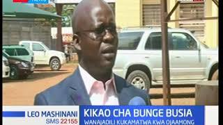 Kikao cha Bunge Busia chatoa maoni kuhusu kukamatwa kwa Gavana Ojaamong