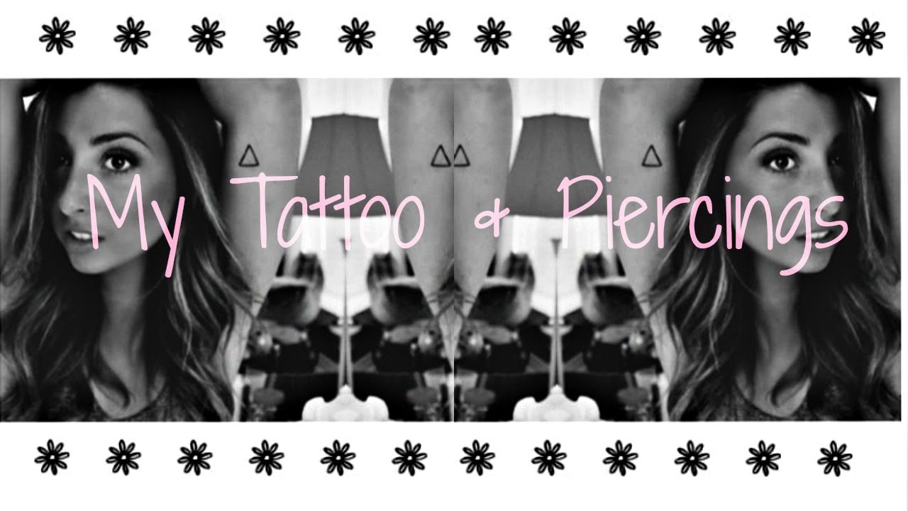 51e8780a8d0e1 My Tattoo & Piercing's Explained! - YouTube