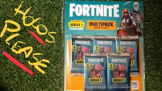 Panini Fortnite Series 1 Trading Cards Multipack Opening (2019) - In search of Holos #2