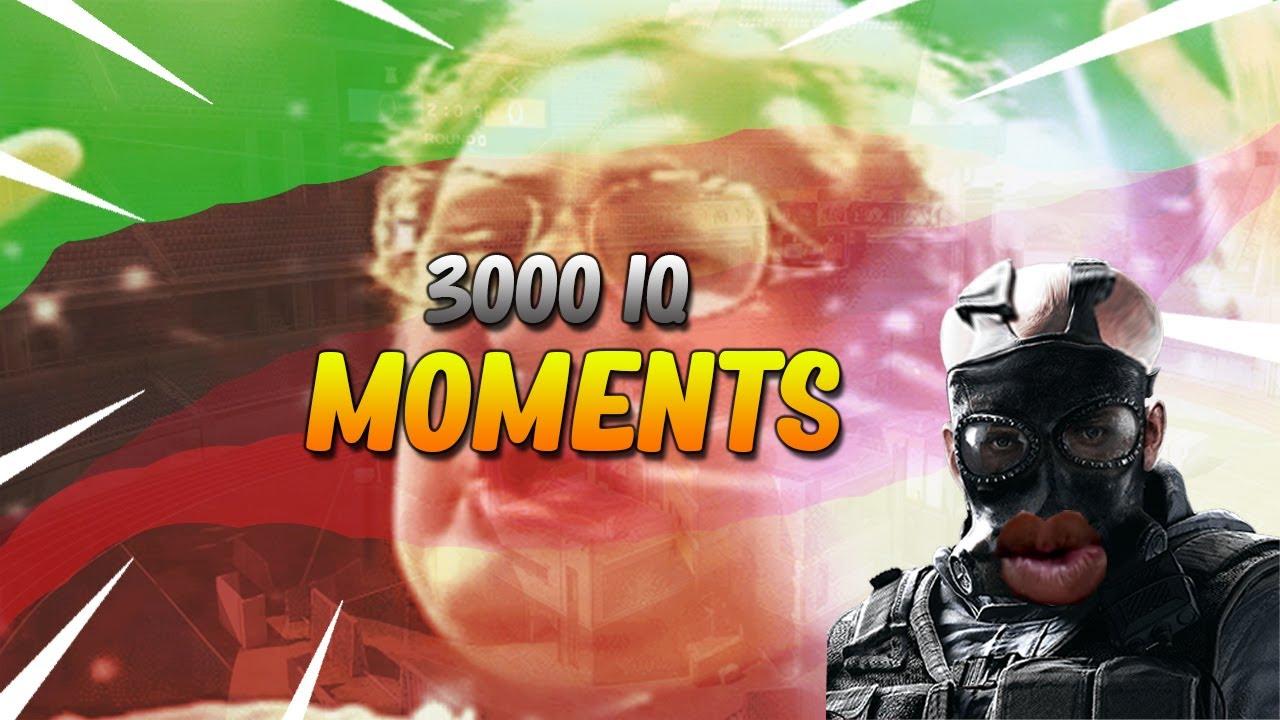 Rainbow six siege 200 IQ Montage - YouTube
