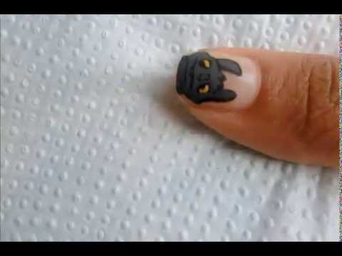 How To Train Your Dragon Inspired Nails Youtube