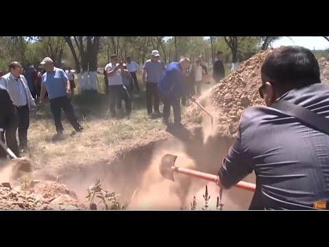 Жертвы репрессий перезахоронены под Алмат