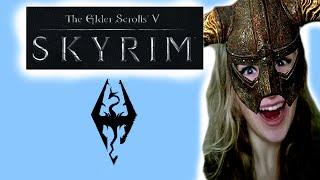Ismay Plays: Skyrim #4 [More Talk, More Fail] Thumbnail