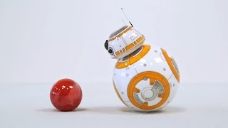 Игрушка Робот дроид Sphero BB 8 Звёздные Войны(Игрушка Робот дроид Sphero BB 8 от Sphero (Orbotix). Подписка на канал: http://goo.gl/Wbux9O Дизайн, принцип действия, алгоритмы..., 2016-02-19T10:24:54.000Z)