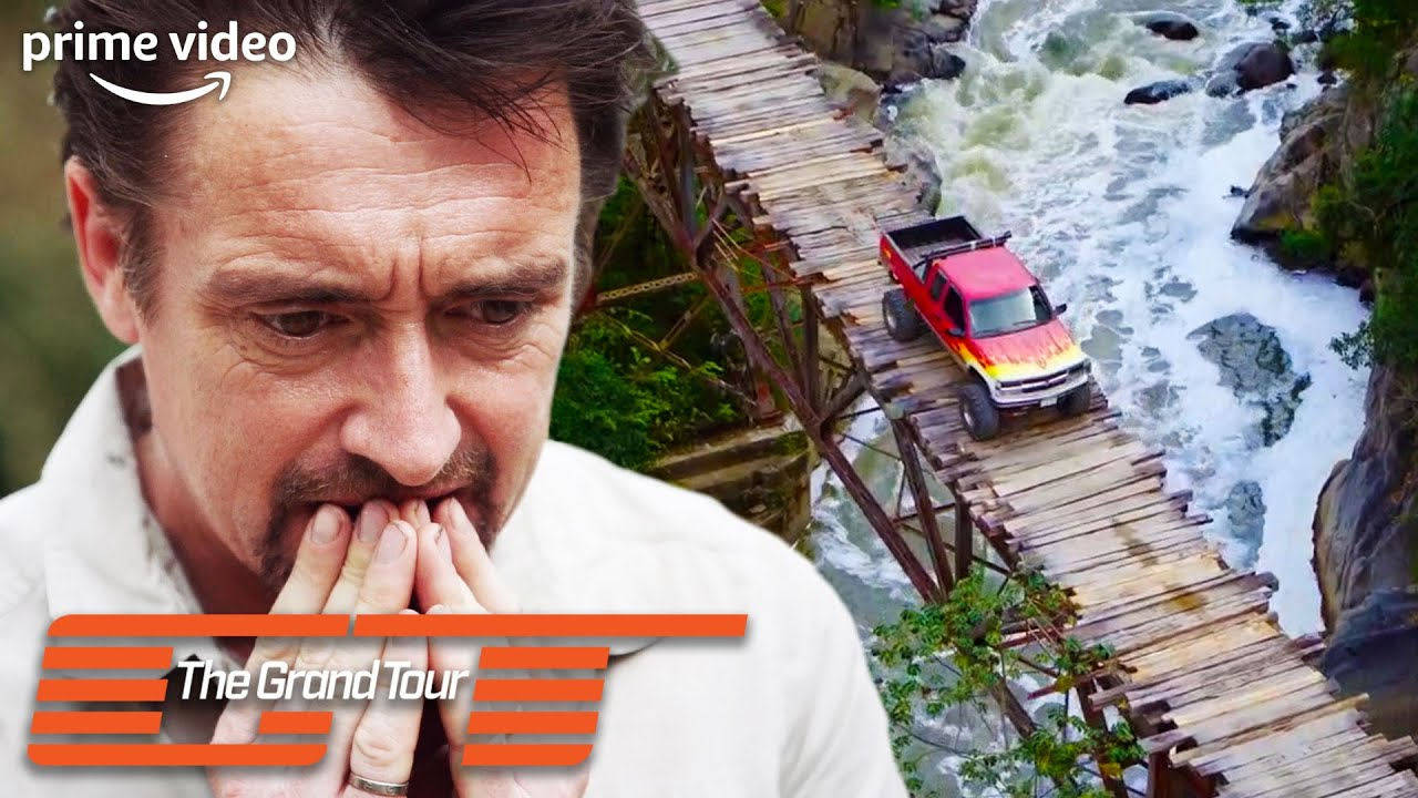 Clarkson Traps Hammond on a Rickety 300ft High Bridge | The Grand Tour | Prime Video