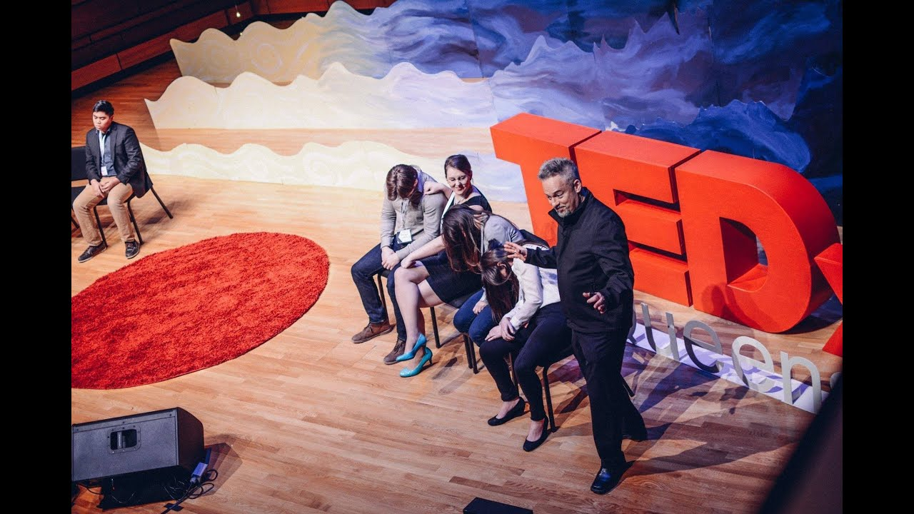 """Is Hypnosis Fake?"" Hypnotist stuns TEDX crowd-- Could YOU be hip-no-tized?"