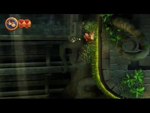 Guia Donkey Kong Country Return Pc Mundo 3 Ruinas Niveles 3-1, 3-2, 3-3, 3-4