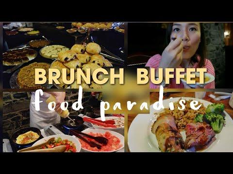 Brunch Buffet + Old-century Style Resto In Montréal
