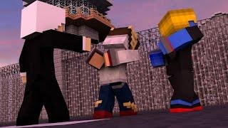 Minecraft: VIRAMOS REFÉNS DO HOMEM DE CABELO BRANCO ‹ ERA ZUMBI › #16