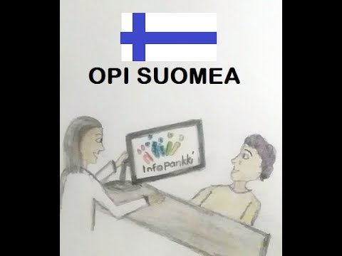 Learn Finnish - Conversation in the Immigration Office