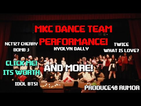 MKC DANCE TEAM KPOP PERFORMANCE AT SCHOOL TALENT SHOW! BTS IDOL, HYOLYN DALLY AND MORE!!!]
