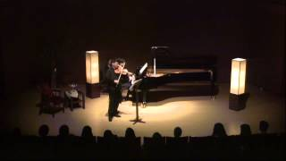 Schubert Fantasy for Violin and Piano in C major D.934 Op.159 by Hyuk-joo Kwun, Jin-woo Park.mp4