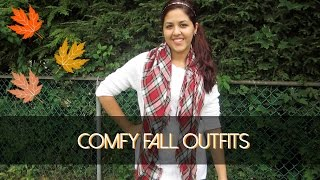 3 Comfy Fall Outfits! Thumbnail