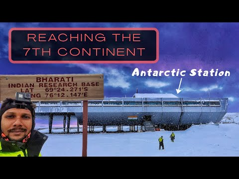 SETTING FOOT ON ANTARCTICA | REACHING INDIAN RESEARCH STATION, BHARATI AFTER 2 WEEKS OF VOYAGE | OWW