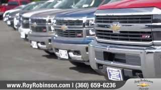 Variety of Inventory - Roy Robinson Chevrolet