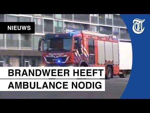 Ongeluk brandweerauto gefilmd: hier gaat het fout!