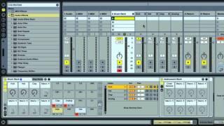 Ableton Live - Sculpt Your Kicks Sounds - Using Drum Racks Part 23
