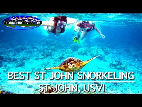 Snorkeling St John | US Virgin Islands