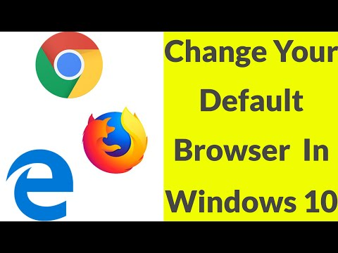 How To Set Google Chrome As Default Browser In Windows 10 Pc-2020