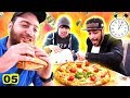 אם אתה אוכל את כל הפיצה ב-5 דקות אתה מקבל...