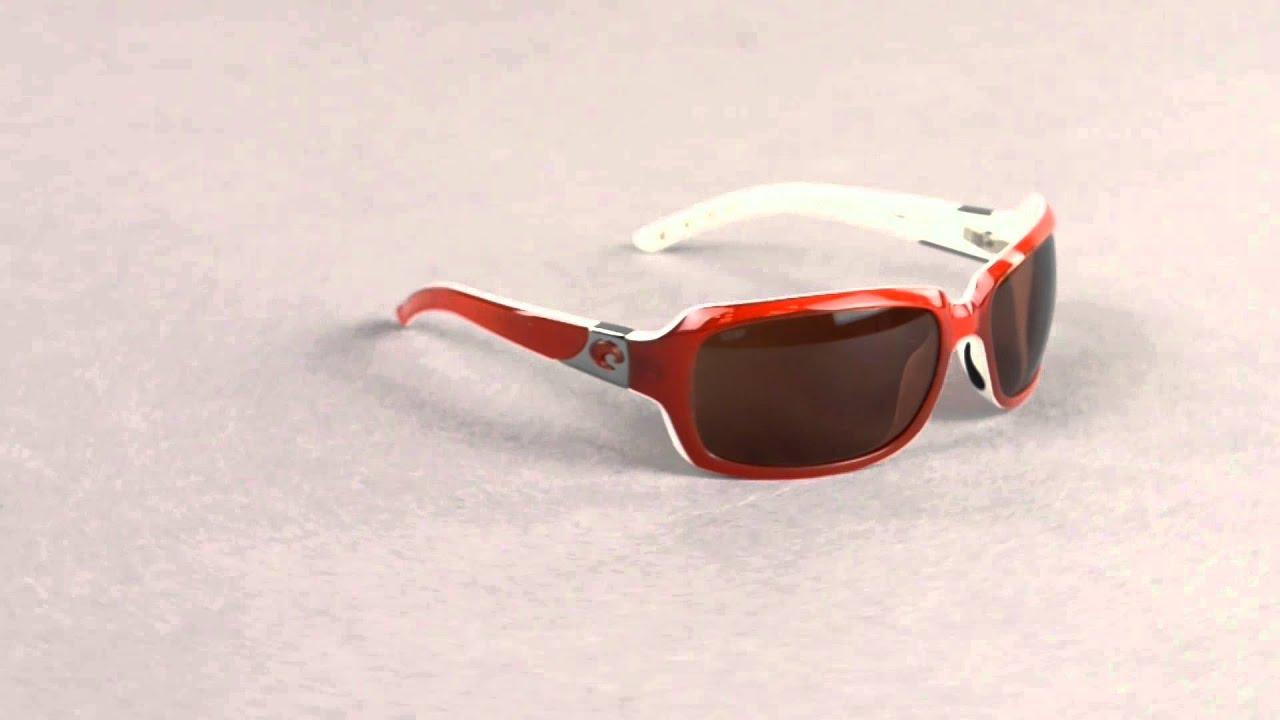 85bc4158518 Costa Del Mar Isabela Sunglasses - Polarized 580P Lenses - YouTube