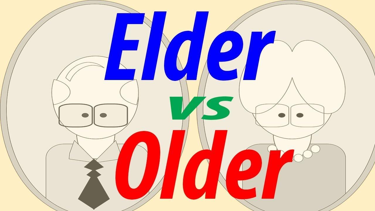Elder vs Older Confusing English words in Hindi | English grammar in Hindi  lesson