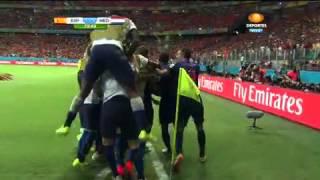 Robben humilla a Casillas y pone el 5-1