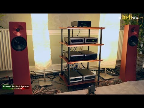 NEW Bel Canto E.One Stream Full Demo Hifi System YG Acoustics Carmel @ Hi-fi Show Live 2018