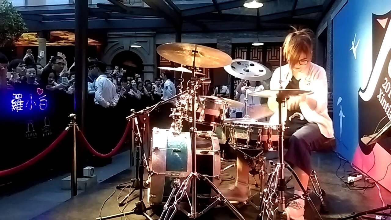 羅小白上海新天地演出第五天晚場(7).灌藍高手頗受粉絲喜愛的一首歌 - YouTube