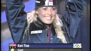 2002 Winter Olympics Medal Ceremony: Women's Moguls