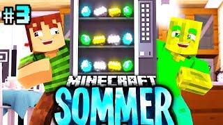 Den 4.444.444€ AUTOMAT GEFUNDEN?! - Minecraft Sommer #03 [Deutsch/HD]