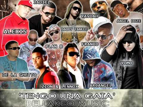 Zion y Lennox Ft  Various Artists   Yo Tengo Una Gata Intro  Pa' La Calle Mixtape Prod  By Gaby y Yazid