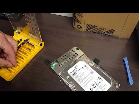 How to Disassemble A Seagate Backup Plus External Disk Chassis