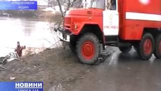 Із озера на Черкащині витягували автомобіль