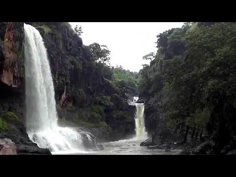 Sitla mata waterfall  video 1