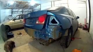 Хонда Сивик ремонт кузова в Нижнем Новгороде Honda Civic Auto body repair(кузовной ремонт и окраска автомобиля Хонда Сивик со мной можно связаться http://vk.com/id349765113 Композиция