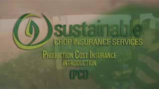 SCIS Production Cost Insurance (PCI) Intro