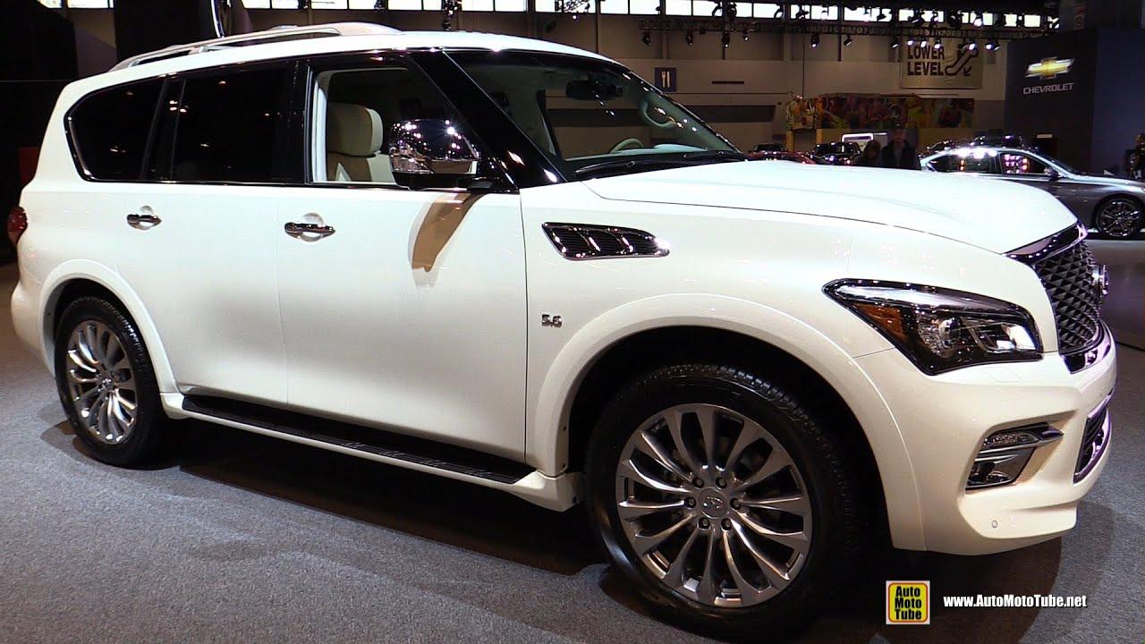 2015 Infiniti Qx80 Exterior And Interior Walkaround 2015