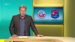 Hansa Rostock gegen Unterhaching - 14. Spieltag 14/15 - Nordmagazin