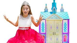 Настя и Артем - веселая история про магический домик