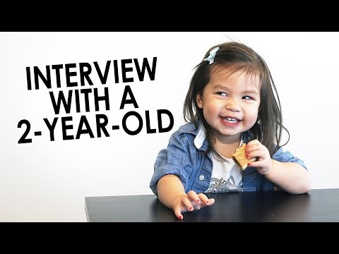 Thumbnail: Interview With A 2 Year Old - Julianna & SeanThinks