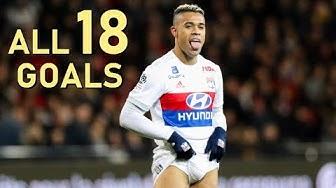 Mariano Diaz ● All 18 League Goals 2017/2018 ● Lyon