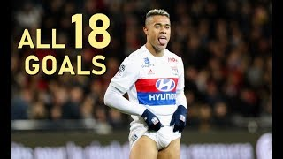 Mariano Diaz All 18 League Goals 20172018 Lyon