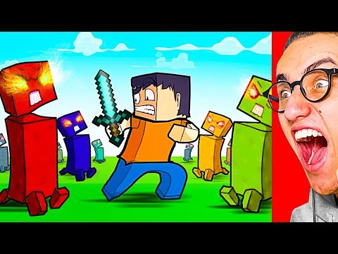 Reacting To WORLD'S MOST EXTREME MINECRAFT ANIMATION!