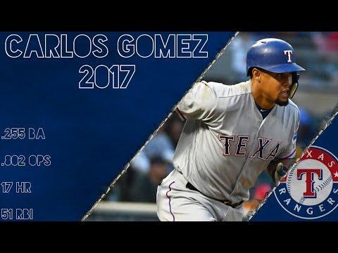 Carlos Gomez 2017 Highlights